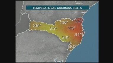 Confira a previsão do tempo para a região Oeste - undefined