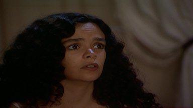 Capítulo de 30/12/1989 - Imaculada vê Tieta e Ricardo se beijando. Amorzinho tem outro ataque e agarra Timóteo. Tieta pede ajuda a Milu. Elisa e Leonora ficam amigas. A marinete é perseguida por um helicóptero.