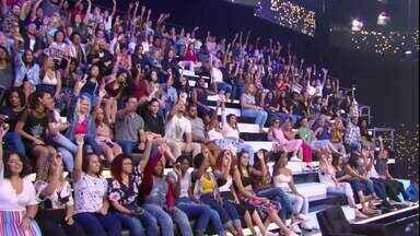 Plateia participa do desafio da bolinha no Caldeirão - Veja quem levou o prêmio