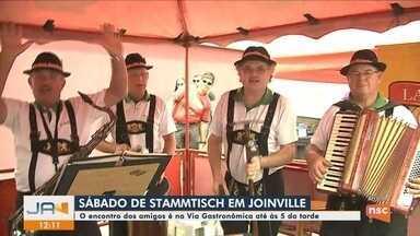 Com gastronomia típica e atrações musicais, Stammtisch agita Joinville neste fim de semana - Com gastronomia típica e atrações musicais, Stammtisch agita Joinville neste fim de semana