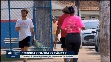 Divinópolis recebe 2º edição da corrida 'Outubro Rosa' - Evento promovido pela Prefeitura reuniu atletas e amadores em ação de conscientização para prevenção do câncer de mama.