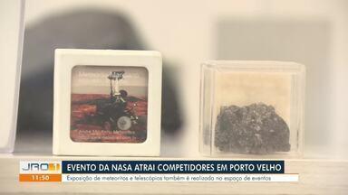 Porto Velho sedia evento da Nasa - Ana Kézia, do G1 Rondônia, é uma das competidoras.