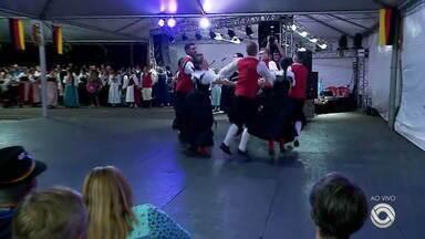 Oktoberfest de Santa Cruz termina neste domingo (20) - Cidade fica movimentada neste final de semana.