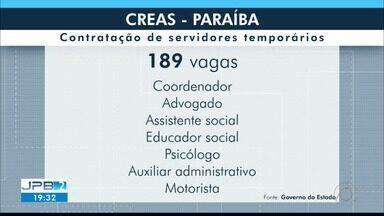 Governo da Paraíba lança edital para contratar 189 temporários - São vários cargos, com um prazo de pelo menos um ano.