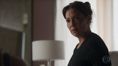 Nana pede segredo a Paloma sobre sua gravidez - undefined