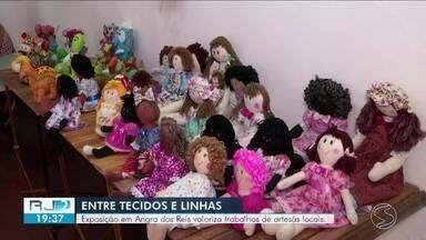 Exposição em Angra dos Reis valoriza trabalhos de artesãs locais - Mostra pode ser conferida até o dia 24 de novembro, na Casa de Cultura Poeta Brasil, no Centro da cidade.