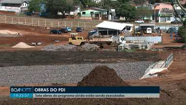 Um raio-x das obras do Programa de Desenvolvimento Integrado de Cascavel - PDI - Algumas obras já foram concluídas, outras estão atrasadas e outras ainda nem começaram.