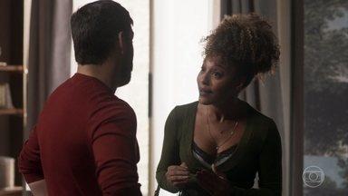 Gisele tenta convencer Diogo a não envenevar Alberto - undefined