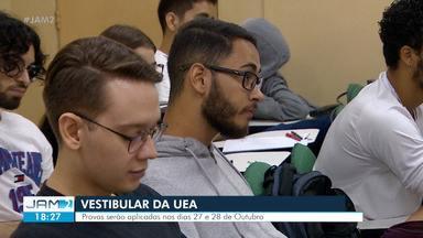 Estudantes intensificam estudos para vestibular da UEA - Estudantes intensificam estudos para vestibular da UEA