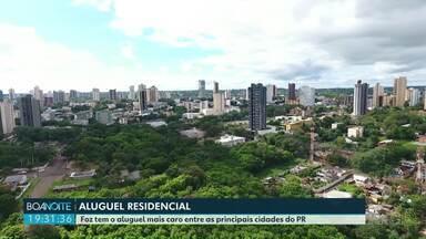 Foz do Iguaçu tem o aluguel mais caro entre as principais cidades do Paraná - O levantamento foi feito pelo Sindicato da habitação e condomínios do Paraná.