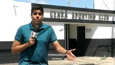 Lucas Catrib traz ao vivo as informações do Ceará direto do CT de Porangabuçu - Vovô tem pelo menos três desfalques para o jogo contra o Bahia na segunda-feira (21).