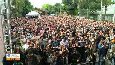 Festa Nacional da Música de Bento Gonçalves celebra a música gospel no domingo (20) - Veja como foi o festival.