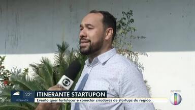 Evento gratuito 'Itinerante Startupon' é realizado no Norte de Minas - O evento será realizado nesta próxima sexta-feira (25), de 9h às 18h.