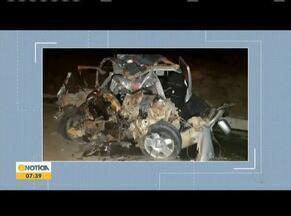 Acidentes acontecem na BR-116 no Vale do Jequitinhonha - Segundo a Polícia Rodoviária Federal, uma pessoa morreu e duas ficaram feridas.