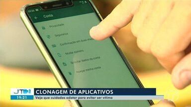 Cuidados devem ser adotados para evitar clonagem de aplicativos de mensagem - A prática desses crimes vem se tornando frequente na região e faz vítimas a cada dia.