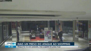 Preso mais um suspeito de explodir caixa eletrônico em shopping de Campina Grande - Ataque foi em janeiro de 2018.