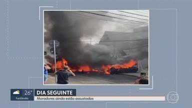 Dia seguinte: moradores do bairro Caiçara ainda estão assustados com queda de aeronave - Preocupação aumenta depois de mais de um acidente aéreo na mesma rua.