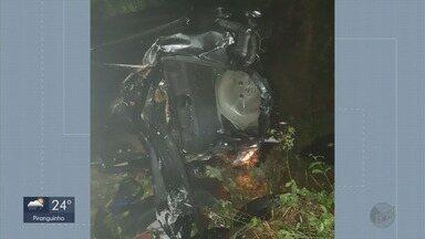 Estudante do exército morre em acidente em Liberdade (MG) - Estudante do exército morre em acidente em Liberdade (MG)