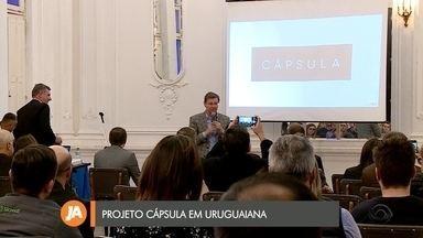 Projeto cápsula é apresentado em Uruguaiana - Projeto, promovido pelo Grupo RBS, busca apresentar tendências de mercado.