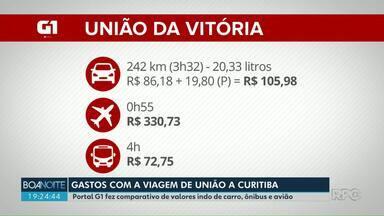 Aeroporto de União da Vitória começa a receber vôos para Curitiba - A partir de agora serão três voos semanais partindo ou chegando a união, às terças, quintas e domingos.