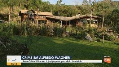 Homem vai a júri popular por triplo homicídio em Alfredo Wagner - Homem vai a júri popular por triplo homicídio em Alfredo Wagner
