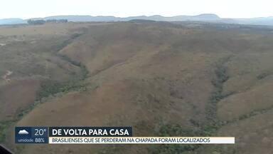 Encontrados turistas brasilienses que se perderam em trilha na Chapada dos Veadeiros - O retorno deveria ter sido no último domingo, 20/10. Grupo passa bem.