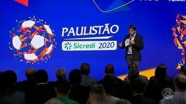 Federação Paulista sorteia os grupos do Paulistão 2020 - Torneio terá 16 datas e jogos únicos nas quartas e semifinais; decisão será em ida e volta.
