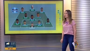 Confira a provável escalação do Grêmio para o jogo contra o Flamengo - Renato Portaluppi tem desfalques no time.