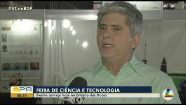Feira de Ciência e Tecnologia começa nesta quarta, na Estação das Docas - Feira de Ciência e Tecnologia começa nesta quarta, na Estação das Docas