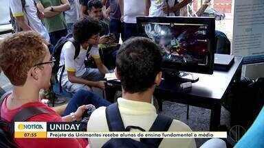 Evento 'Uni Day' espera receber mais de 3 mil estudantes em Montes Claros - O projeto é desenvolvido pela Unimontes, e começou nesta última terça (22).