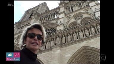 Ana Maria relembra viagem a Paris em 2011 - Apresentadora viajou para a cidade-luz com a família, mas mostrou tudo para o 'Mais Você'!