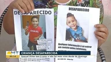 Polícia não tem pistas sobre desaparecimento de criança em Rondonópolis - Polícia não tem pistas sobre desaparecimento de criança em Rondonópolis