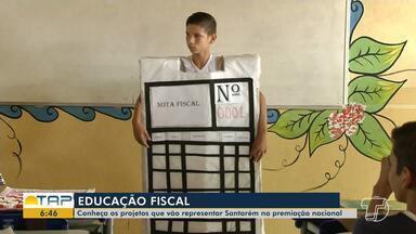 Projetos de educação fiscal de escolas de Santarém são selecionados em premiação nacional - Conheça os projetos que foram classificados.