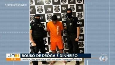 Polícia concui inquérito de homicídio que ocorreu em 2016, em Goiânia - Investigação apontou que vítima foi assassinada por causa de roubo de drogas.