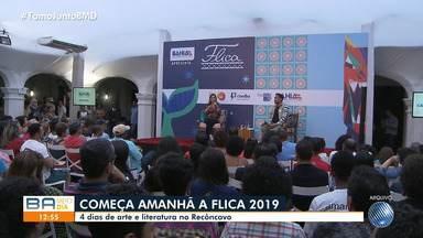 Cachoeira recebe os últimos preparativos para sediar a oitava edição da Flica - A Festa Literária Internacional que movimenta o recôncavo baiano acontece de quinta-feira (24) até domingo (27).