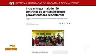 Confira os destaques do G1 Santarém e região - Saiba o que é destaque acessando nosso portal na internet.