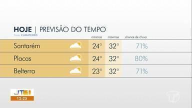 Saiba como fica o clima nos próximos dia em Santarém e região - Confira a previsão do tempo.