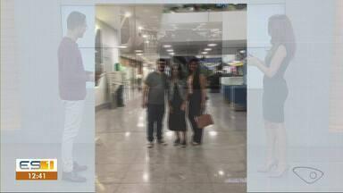 Estudante que teve texto selecionado em Olimpíada de Língua Portuguesa chega em São Paulo - Késia tenta uma vaga na final, que acontece em Brasília.