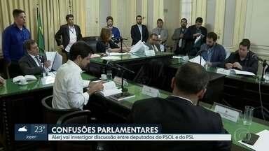 Alerj aprova projeto que divulga onde cada funcionário da Assembleia trabalha - Atualmente, Alerj só divulga salário dos servidores. Projeto garante mais transparência. Na Comissão de Ética, deputados aprovaram investigação de troca de ofensas entre parlamentares do PSOL e do PSL.
