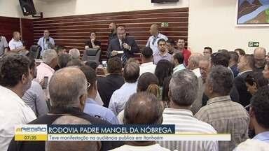Terceira reunião para discutir privatização de rodovias está marcada para esta quinta - Reunião discute ação do Governo do Estado que pretende entregar trechos de três rodovias da região para iniciativa privada.