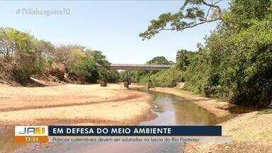Medidas sustentáveis devem ser adotadas na bacia do Rio Formoso - Medidas sustentáveis devem ser adotadas na bacia do Rio Formoso