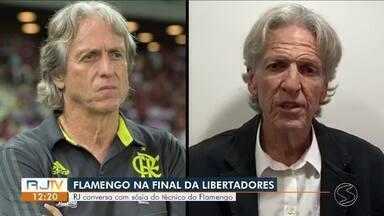 Sósia do técnico do Flamengo faz sucesso em Resende - Vitória de ontem deixou os torcedores da região empolgados.