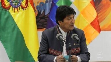 Supremo Tribunal Eleitoral da Bolívia não confirma vitória de Evo Morales - A presidente do Tribunal, Maria Eugênia Choque, anunciou que ela terminou com vantagem de 10,5 pontos percentuais para Evo Morales. Isso daria a vitória a Morales. Mas ela resolveu disponibilizar os votos para quem quiser auditá-los.