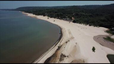 É do Pará apresenta as belezas da praia Amaranaí, em Belterra - É do Pará apresenta as belezas da praia Amaranaí, em Belterra