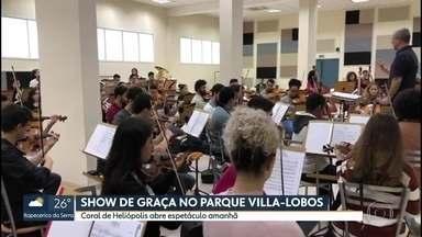 Show gratuito no Parque Villa-Lobos reúne Paralamas do Sucesso e Orquestra Sinfônica - Quem vai abrir o espetáculo da Orquestra Sinfônica de Heliópolis é o Coral da Gente, formado por jovens e crianças do próprio bairro.