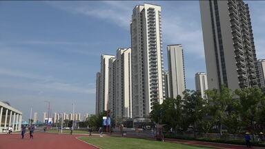 Instalações da Vila dos Atletas impressionam no Jogos Mundiais Militares na China - Instalações da Vila dos Atletas impressionam no Jogos Mundiais Militares na China