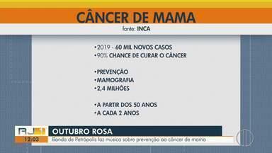 60 mil novos casos de câncer de mama em 2019 - Assista a seguir.