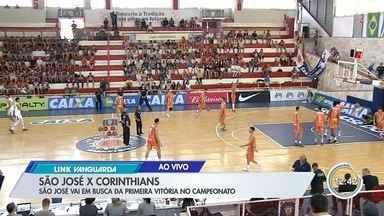 Basquete: São José encara o Corinthians - Veja as informações no link.