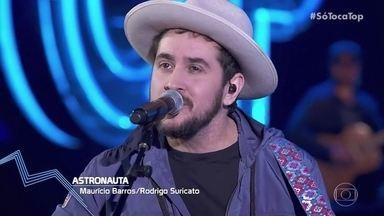 Rodrigo Suricato fala sobre sua carreira solo - O integrante do Barão Vermelho canta ´Astronauta´