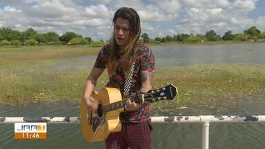 Cantor Ishraell Pereira se destaca com rock e pop em Boa Vista - Natural da Venezuela, músico vive há 7 anos em Roraima e tem conquistado cada vez mais fãs na capital.